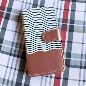 iPhone X Magnetic Removable Wallet Flip Case Cover